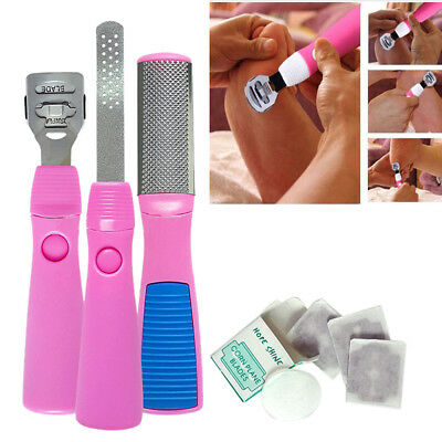 Callus Corn Hard Skin Remover Shaver Foot Rasp File Pedicure Scraper Kit Blades