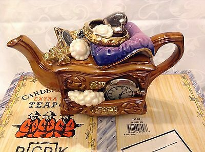 Cardew Boxed Collectable Novelty Medium Teapot Jewellery Box Perfect Condition