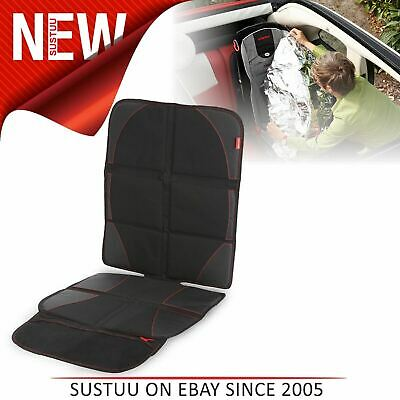Diono Ultra Mat Deluxe Seat Protector With Integrated Car Seat Shade│Easy To Use