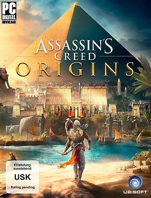 Assassin's Creed Origins (PC, 2017) Uplay Online Code - via Email in under 12h!