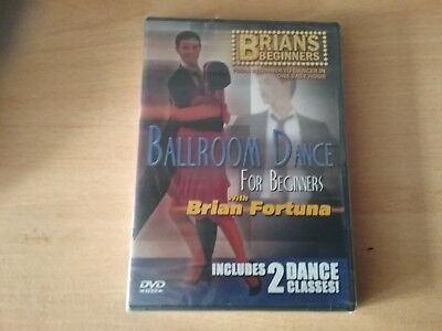 ballroom dance for beginners dvd with Brian fortuna new and sealed freepost