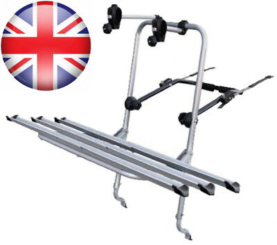 Menabo 925826D Steelbike Rear Bicycle Carrier for 2 Bikes with Racks
