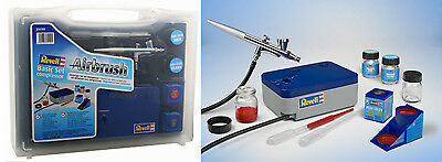 Revell 39199 Airbrush Basic Set mit Kompressor