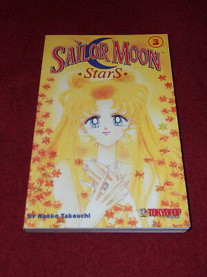 Sailor Moon StarS #3 by Naoko Takeuchi Tokyopop first US print Star S marriage