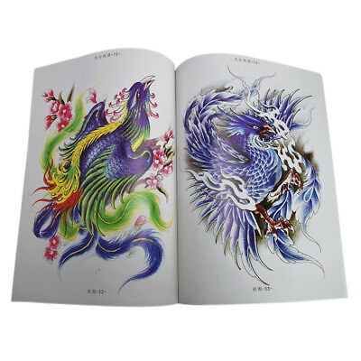 Livre de Tatouage D'art de Corps Traditionnel Oriental Conceptions de