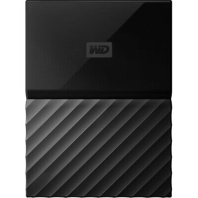 Western Digital My Passport Portable Schwarz 4 TB,USB 3.0 Externe Festplatte HDD
