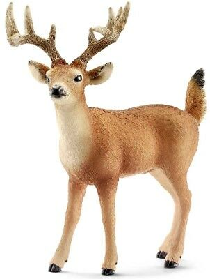 Schleich 14709 White-Tailed Buck (World of Nature - Wild Life) Plastic Figure
