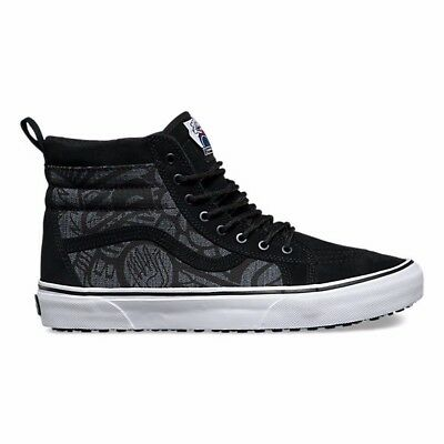 258e6f119ed1c5 Vans Sk8 Hi MTE Jamie Lynn Men s 11 Skate Shoes New Black All Weather Gray
