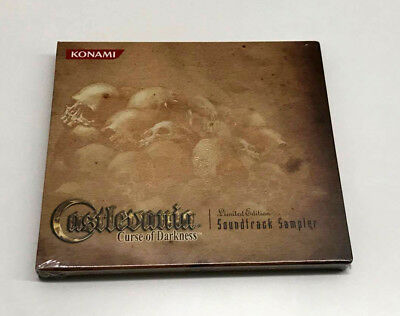 Castlevania Curse of Darkness Limited Edition Soundtrack Sampler CD NEW & SEALED