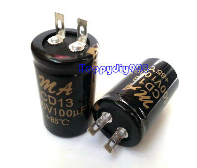 100uF 500V  Double Audio Capacitor for Valve Hi-Fi Amplifiers 1PC 100uF