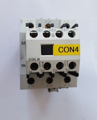 Moeller Dil1Am-G Contactor W/ 31Dilm  (Rs3.4B3)