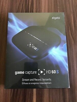 Elgato Game Capture HD60 S - stream, record and share your gameplay in 1080p60