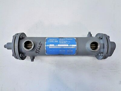 API BASCO Type 500 Heat Exchanger, Size 03014, #1501-03-014-005