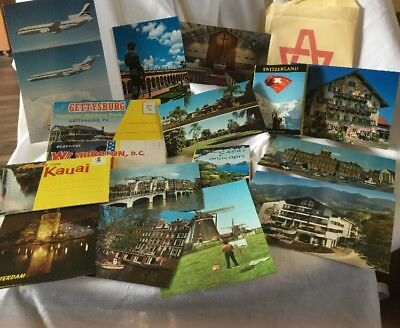 Vintage lot of postcards ~ New Postcards from the 1950'- '70s - Historic