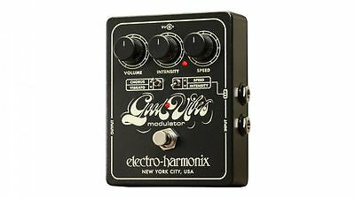 Electro-Harmonix Good Vibes Modulator Guitar Effects Pedal with Power Supply