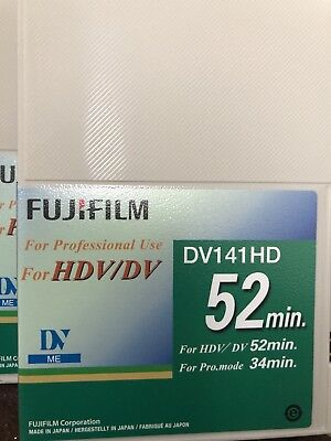 5 New Hdv / Dv  Tape For Professional Use