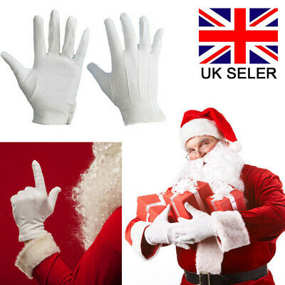 Cotton Formal White Gloves Man Woman Kids Childrens Prince Masquerade Magician A