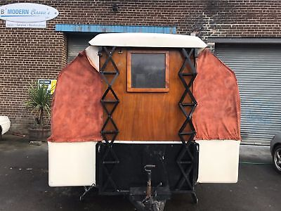 Unique vintage/retro/classic trailer tent/caravan, one of a kind?