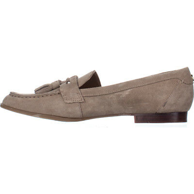 392a399c9 TOMMY HILFIGER WOMENS Sonya Leather Almond Toe Loafers -  48.34 ...