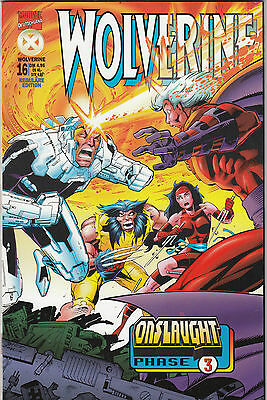 WOLVERINE 1. Serie (deutsch) # 16 - ONSLAUGHT 3 - MARVEL 1998 - TOP