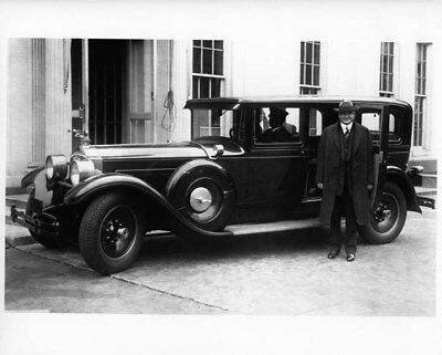 1928 Packard 8 Limousine ORIGINAL Photo Negative Herbert Hoover nad0253