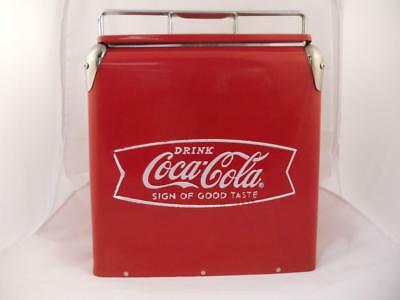 Vintage CoCa~CoLa Camping Cooler box / Ice Chest