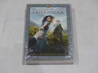 Outlander The Complete First Season (Season 1) Dvd New W/ Limited Edition Book