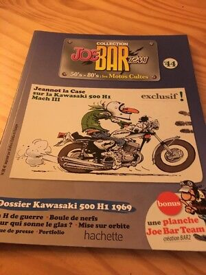 Joe Bar Team n° 44 collection moto revue magazine 50's 80's les motos cultes