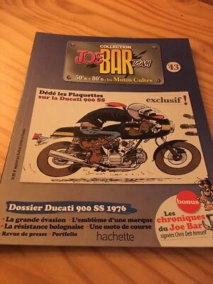 Joe Bar Team n° 43 collection moto revue magazine 50's 80's les motos cultes