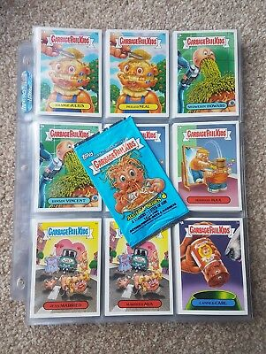 2007 USA Garbage Pail Kids - All New Series 6 Complete Set - ANS - UK Seller