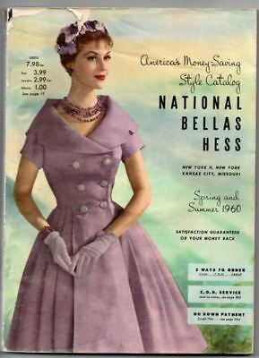 National Bellas Hess Style Catalog - Spring and Summer 1960