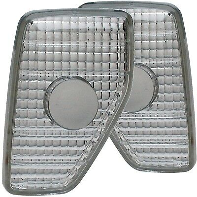 Set of Pair Euro Clear Sidemarker Lights for 2006-2010 Hummer H3