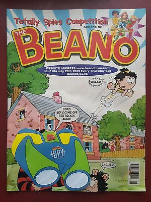 The Beano Comic No.3184 July 2003 Includes Free Gift #B2016