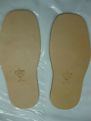 Leather Full soles Prime Grade - Super Quality 1 pair NEW - Shoe Repair
