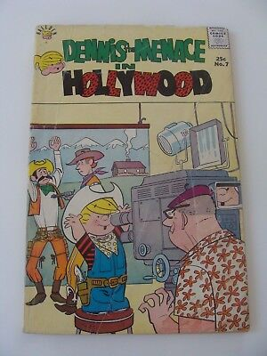 Dennis the Menace Giants: In Hollywood #7 (1958) VG 100 pgs Fawcett