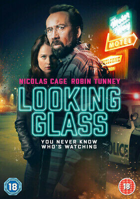 Looking Glass DVD (2018) Nicolas Cage, Hunter (DIR) cert 18 Fast and FREE P & P