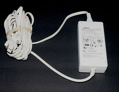 Original White Bose PSM36W-201 AC Power Adapter for SoundDock I - Tested & Works