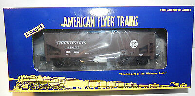 AMERICAN FLYER by LIONEL 48255 PENNSLYVANIA HOPPER - TTOS NEW IN BOX ~ MINT