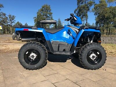2018 Polaris Farmhand 450 HD ATV Quad Bike