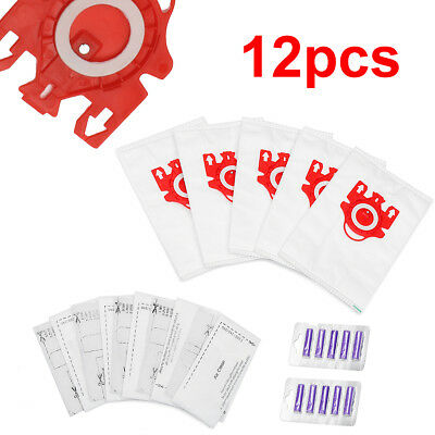 Vacuum Cleaner Bags For Miele Compact C1 & C2 Series FJM Type & Fresheners