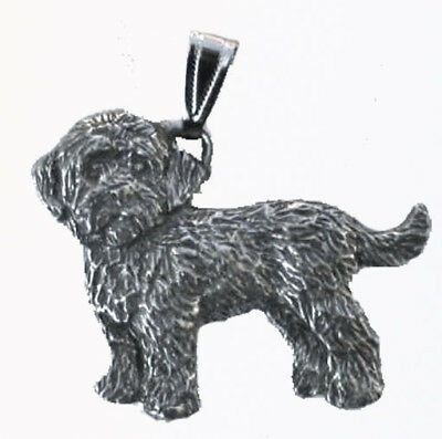 Cockapoo Pendant Dog Harris Fine Pewter Made in USA jewelry