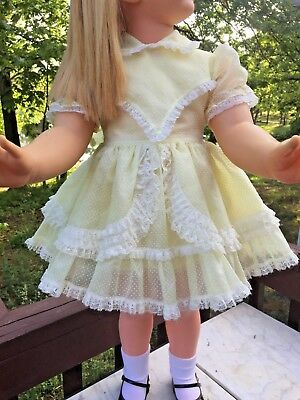 Vintage Toddler or Baby Dress 2T for Patti Playpal Doll **DOLL NOT INCLUDED