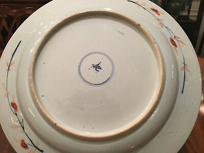 A Rare and Large Chinese Kangxi Imari Porcelain Charger, Marked.