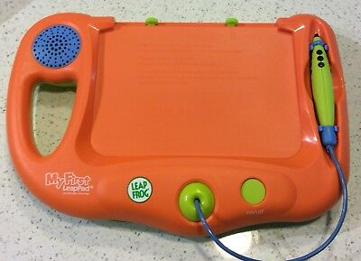 Leap Frog My First Leap Pad Orange