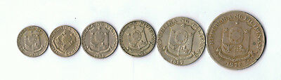 Old Philippines Retired Coins