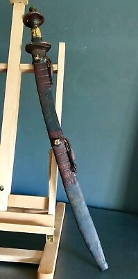 "Rare Antique North African ""Tuareg"" Tribe 19th Century Sword"