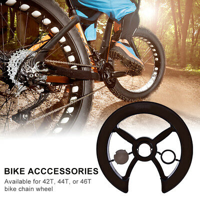 New Bike Chain Ring Guard Chainring Protector Chainwheel Cover Chainguard AF