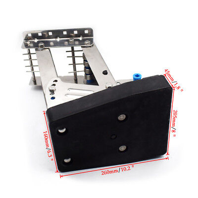 US Free Shipping Black 2-stroke Outboard Auxiliary S.S. Motor Bracket Up To 20hp