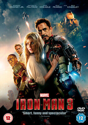 Iron Man 3 DVD (2013) Robert Downey Jr