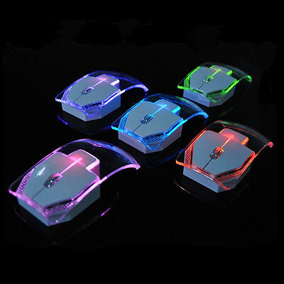 Wired Emitting Colorful Mouse 1200Dpi Slim Optical Mouse For Computer Laptop